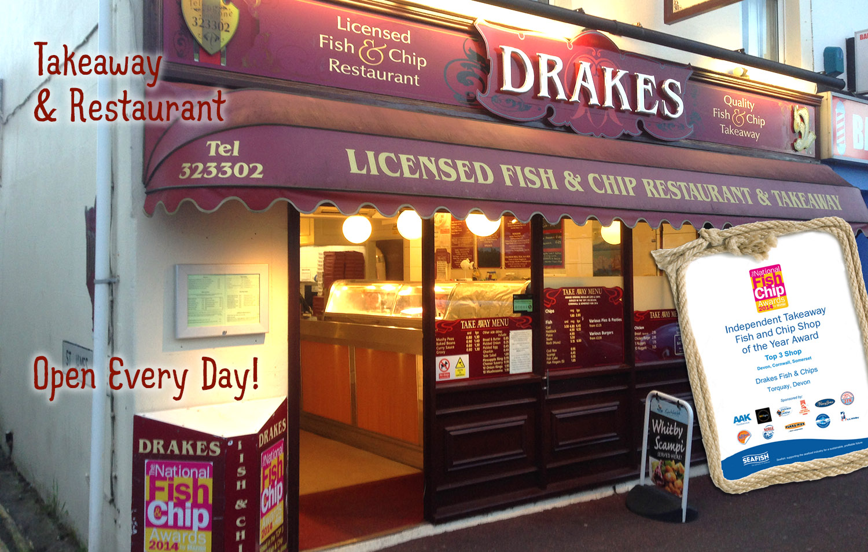Drakes Fish And Chips Babbacombe Torquay